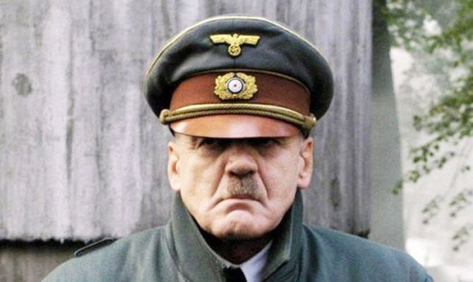 Fake history Adolf Hitler Downfall